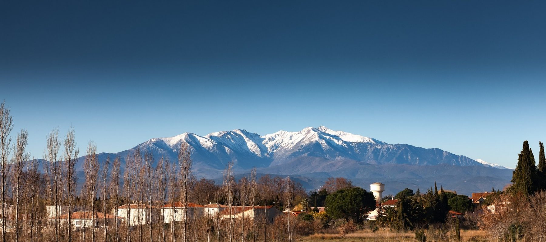 Breath taking views of the Pyrenees